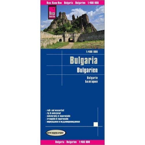 Reise Know-How Landkarte Bulgarien / Bulgaria (1:400.000) -  Straßenkarten