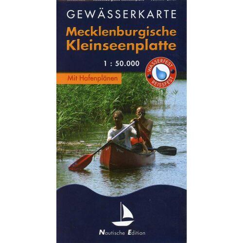 Gewässerkarte Mecklenburgische Kleinseenplatte 1 : 50 000 -  Gewässerkarten