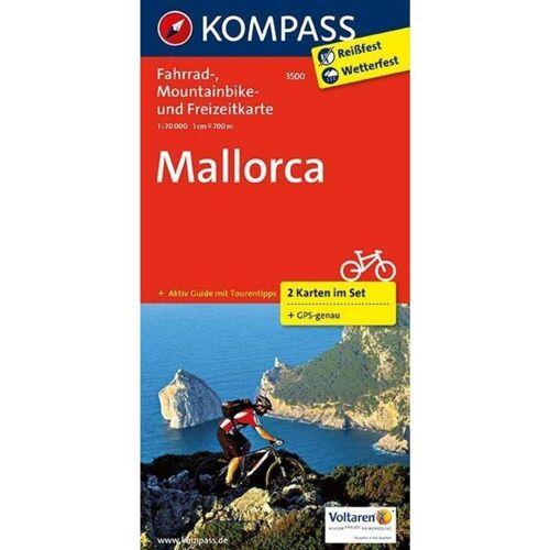 Mallorca 1 : 70 000 -  Fahrradkarten