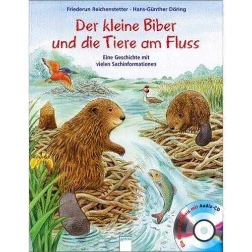 Der kleine Biber und die Tiere am Fluss -  Bilderbücher