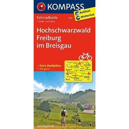 Hochschwarzwald - Freiburg im Breisgau 1 : 70 000 -  Fahrradkarten