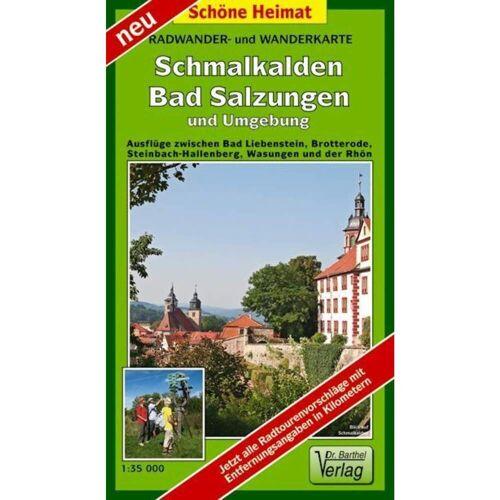 Schmalkalden, Bad Salzungen und Umgebung 1 : 35 000 Radwander- und Wanderkarte -  Wanderkarten und Winterkarten