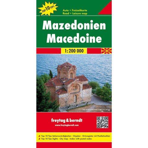 Mazedonien 1 : 200 000 -  Straßenkarten