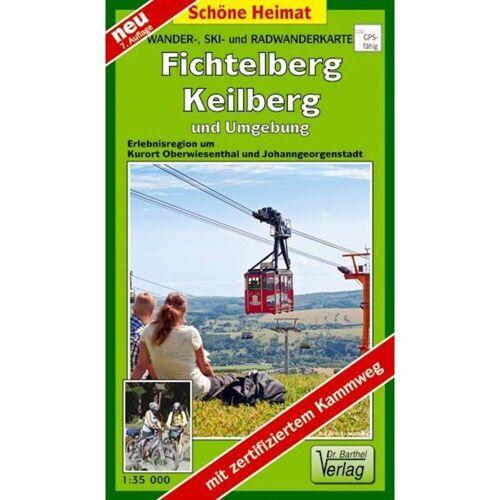Fichtelberg, Keilberg und Umgebung 1 : 35 000 -  Wanderkarten und Winterkarten