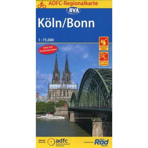 ADFC-Regionalkarte Köln/Bonn 1:75.000 -  Fahrradkarten