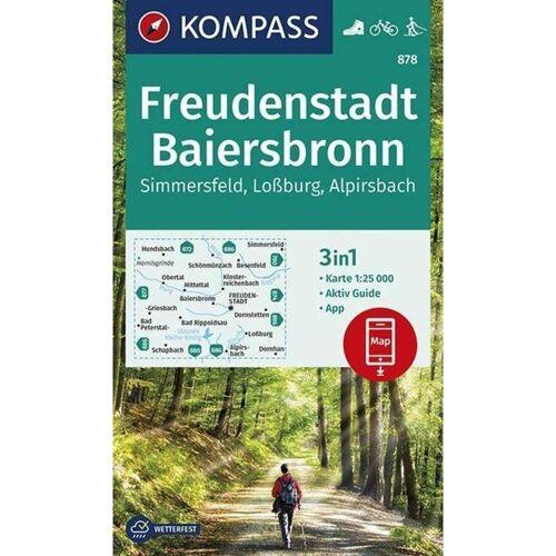 Freudenstadt, Baiersbronn, Simmersfeld, Loßburg, Alpirsbach -  Wanderkarten und Winterkarten