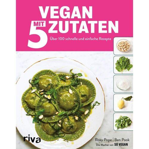 Vegan mit 5 Zutaten -  Kochbücher