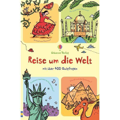 REISE UM DIE WELT - Kinderbuch - weiß