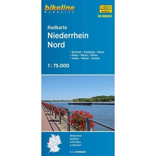 Radkarte Niederrhein Nord (RK-NRW03) -  Fahrradkarten