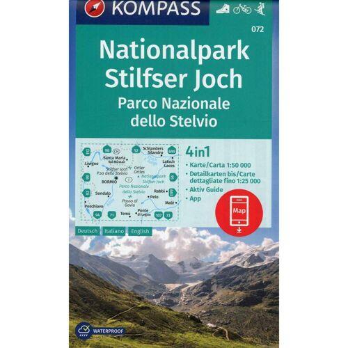 Nationalpark Stilfserjoch, Parco Nazionale dello Stelvio 1:50 000 -  Wanderkarten und Winterkarten