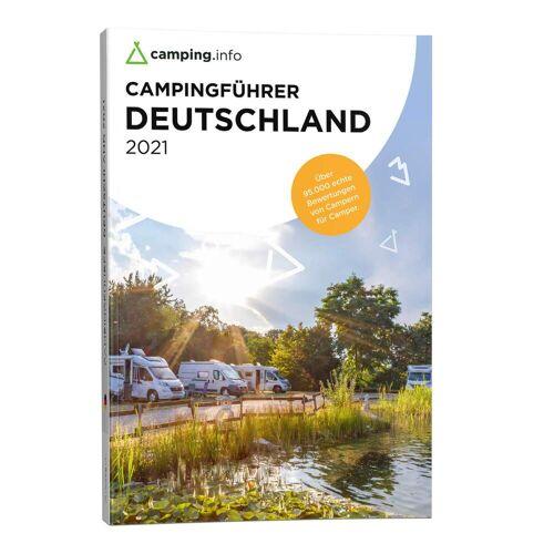 CAMPING.INFO CAMPINGFÜHRER DEUTSCHLAND 2021 -  Rund ums Zelten