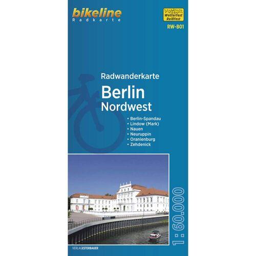 RADWANDERKARTE BERLIN NORDWEST 1:60.000 (RW-B01) -  Fahrradkarten
