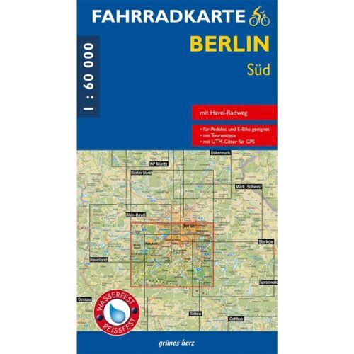 FAHRRADKARTE BERLIN SÜD 1:60.000 -  Fahrradkarten