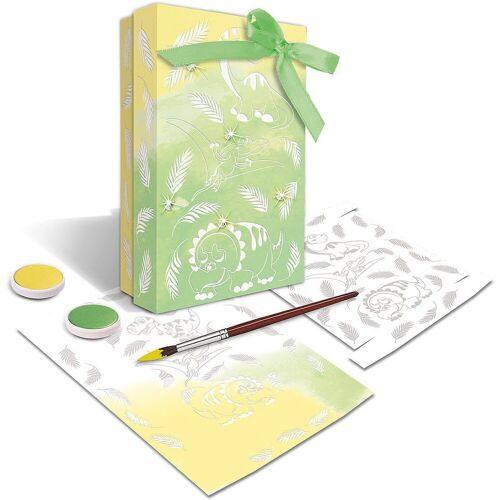 URSUS Papierdekoration »Zauberpapier Dino 250 g, 10 Blatt A4«