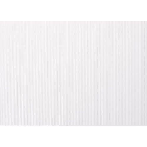 Folia Papierkarton, 70 cm x 50 cm, Weiß