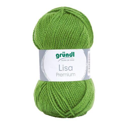 Gründl »Lisa Premium« Häkelwolle, 50 g, Grün