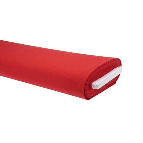 VBS Stoff »Uni«, 158 cm breit, Meterware, Rot