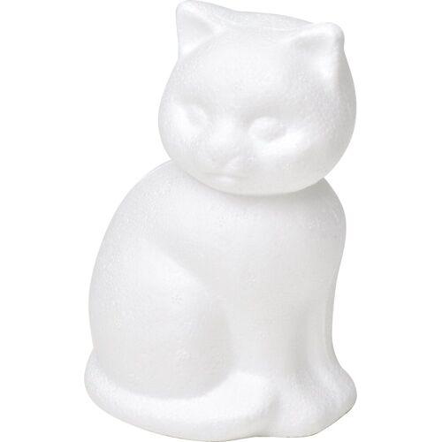 VBS Styropor-Figur »Katze«, 14 cm