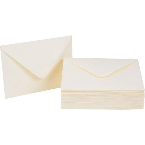 VBS Briefumschlag, DIN C6, 50 Stück, Creme