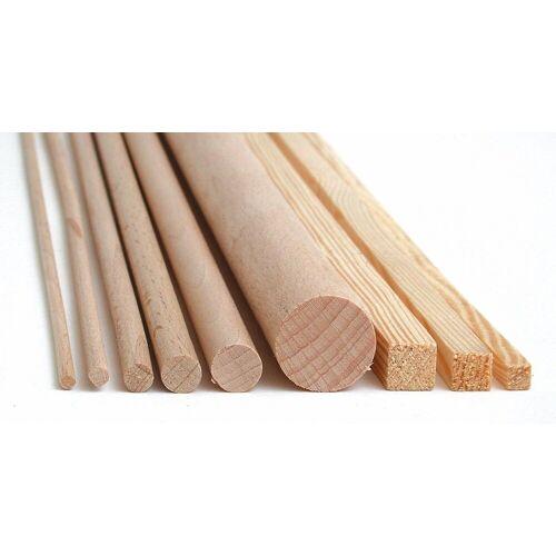 MEYCO Hobby Kantholz »Holz-Vierkantleiste«, 1 m x 10 mm x 10 mm