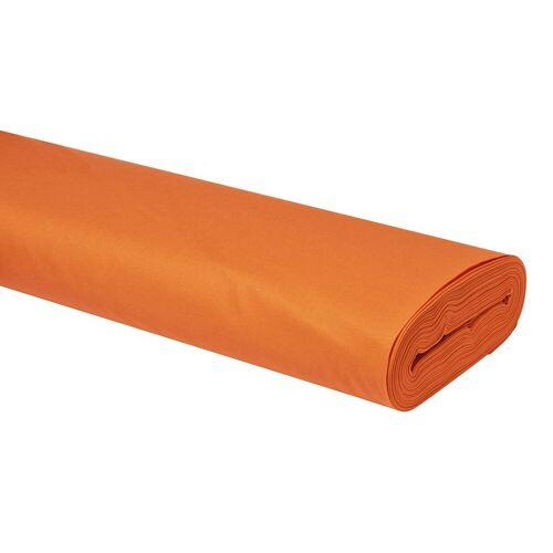 VBS Stoff »Uni«, 147 cm breit, Orange, Meterware