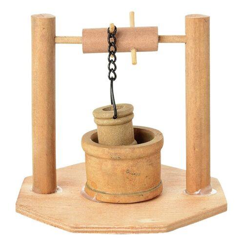 VBS Dekofigur »Holz-Brunnen«, Ø 8 cm