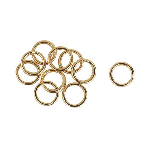 VBS Schmuckset »Spaltringe«, Ø 6 mm, 10 Stück, Gold