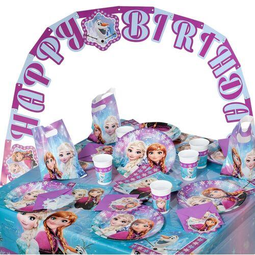 Procos Kindergeschirr-Set »Partyset Trolls, 50-tlg.«, lila