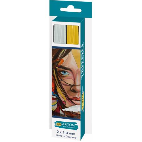 Kreul Marker »Acrylfarbstifte-Set Triton Acrylic Paint Marker 1.«, 2 Stück