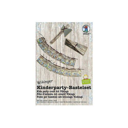URSUS Kreativset »Kinderparty Bastelpackung - Wikinger«
