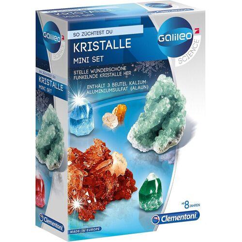 Clementoni® Lernspielzeug »Galileo - Kristalle selbst züchten - Mini-Set«