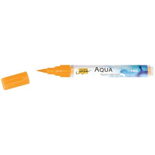Kreul Aquarellstifte »Solo Goya Aqua Paint Marker«, Wasserbasis, Wasserverdünnbar, Orange