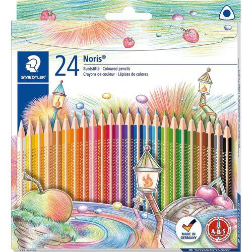 Staedtler NORIS Club Buntstifte, 24 Farben