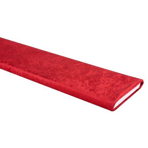 VBS Stoff »Pannesamt«, 150 cm breit, Meterware, Rot