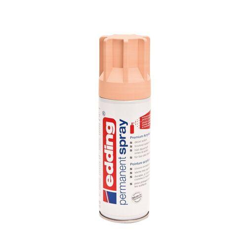 """EDDING Farbspray seidenmatt """"permanent spray 5200"""" ca. 200 ml, Puder-Pfirsich"""