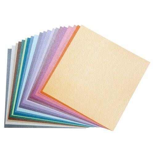VBS Papierkarton »Scrapbook-Block Struktura Pearl 2«, 30,5x30,5 cm, 20 Blatt