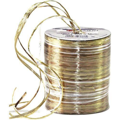 PRAESENT Bastband, gold-creme
