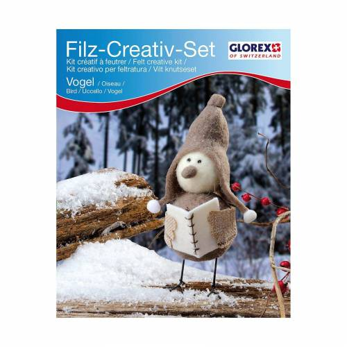 Glorex Filz-Kreativset Vogel