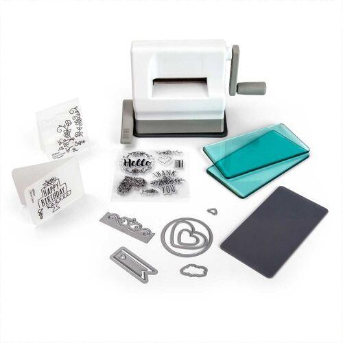 Sizzix Motivstanzer »Sidekick Starter Kit - Stanzmaschine 661770, mit 6,35 cm Öffnung (22-teilig)«