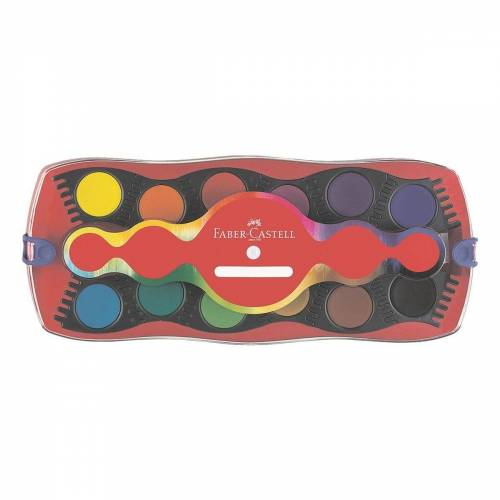 Faber-Castell Farbkasten »Connector«, mehrfarbig