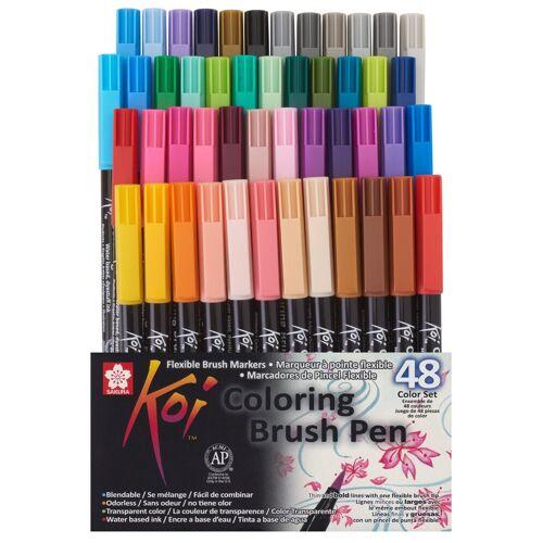 Sakura Pinselstift »Pinselstift Koi Coloring Brush-Set«, 48 Farben