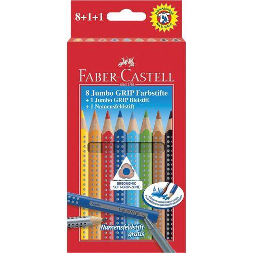 Faber-Castell Dekorierstift »JUMBO GRIP Buntstifte 8 & 2«