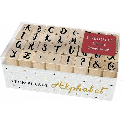 Coppenrath Stempel »Holzstempel-Set - Alphabet«