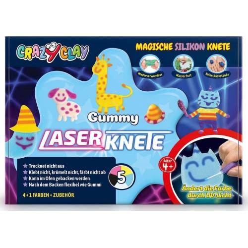 INTELLIGENTE knete »Gummy Laserknete-Set«