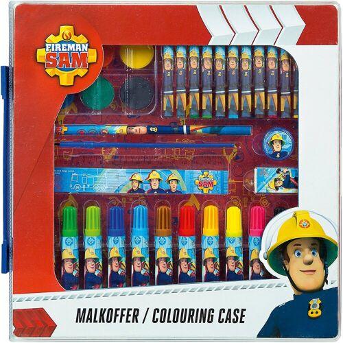 UNDERCOVER Malkoffer Feuerwehrmann Sam, 24-tlg.