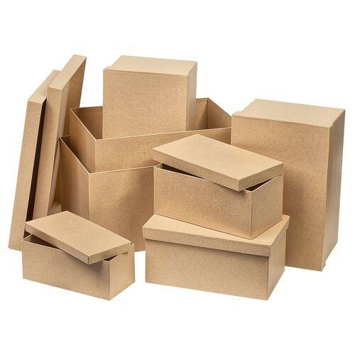 VBS Aufbewahrungsbox »Rechteck«, 7er-Set