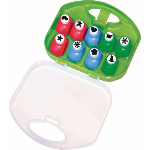 Playbox Motivstanzer »Motivstanzer in Box, 9 Stück«