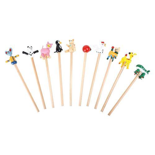 Small Foot Bleistifte Tiere, 10 Stück