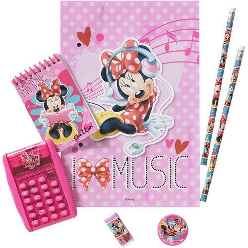 frajodis Taschenrechner »Taschenrechner-Set Minnie Mouse«