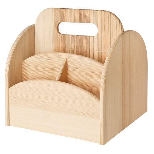 VBS Organizer »Utensilienbox Dreh Stiftehalter«, 22 cm x 20,5 cm x 18,5 cm